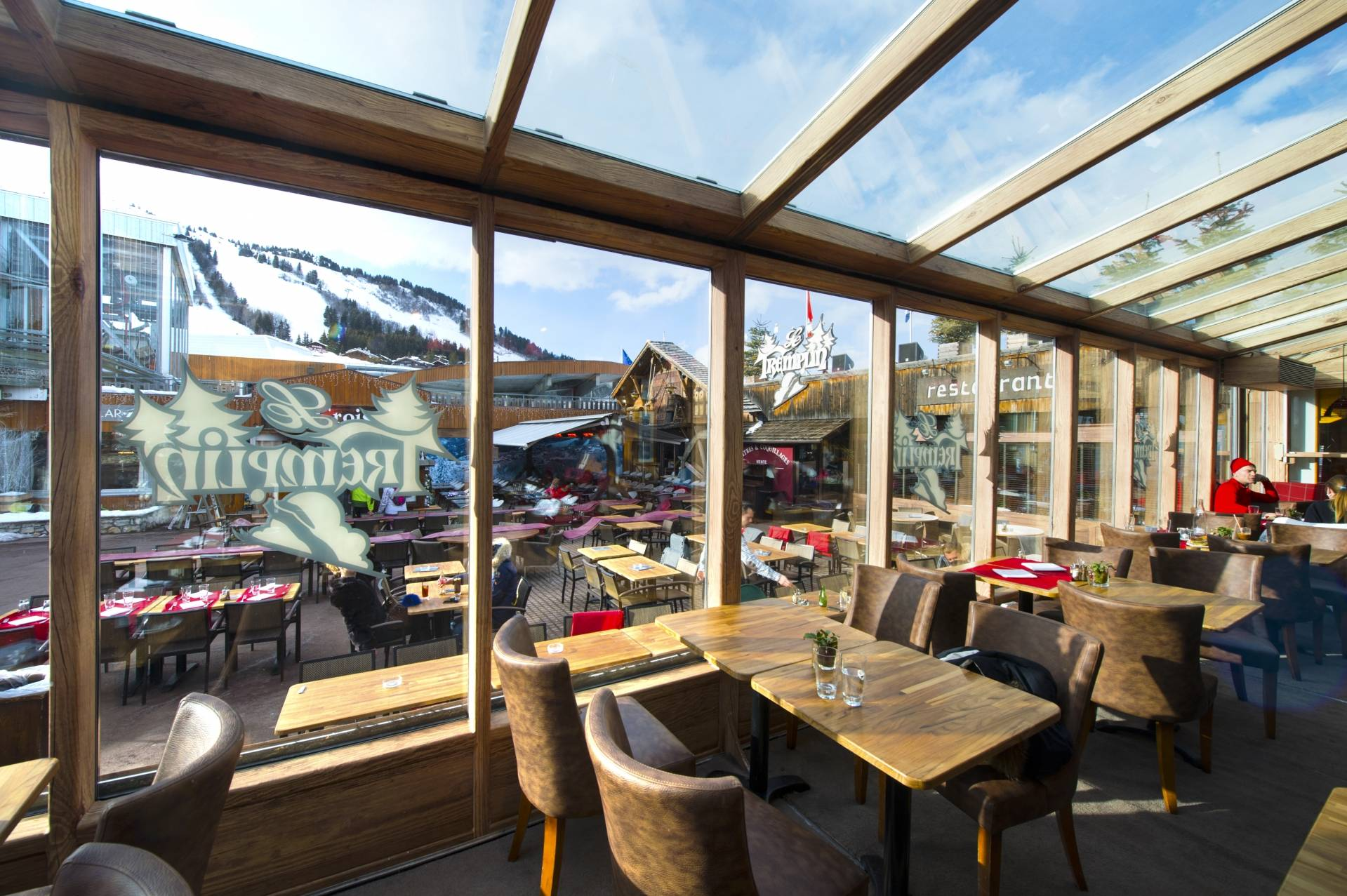 Restaurant Le Tremplin, Courchevel (73) © RIOU Glass | Sarah Vervisch -
